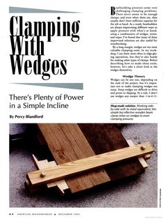 Wedge Clamps