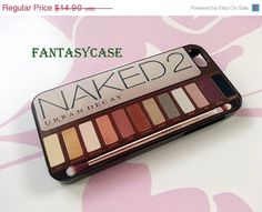SALE Naked Palette - iPhone 4 Case , iPhone 4s Case , iPhone 5 Case , Galaxy S3 , Galaxy S4 , Galaxy Note 2 , Plastic Case on Etsy, $12.90