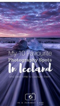 Ever wondering what the best photography spots in Iceland are? I've got an answer for you. During my 3 week road trip around Iceland I have photographed many locations around the island and came up with this list of my absolutely favorite spots. #iceland #travel #landscape #photography