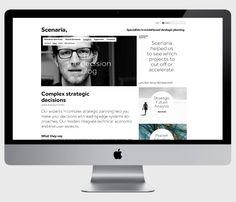 Scenaria - corporate identity & design by moodley brand identity , via Behance Corporate Identity Design, Brand Identity, Branding, Strategic Planning, Web Design, Stationary, Behance, Brand Management, Design Web