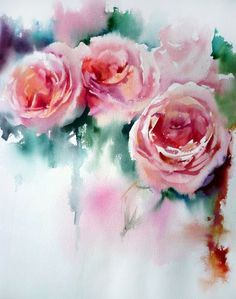 jean claude papeix | Jean Claude Papeix Watercolor | Floral & God's small…