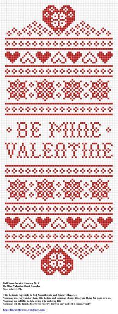 Be Mine Valentine Band Sampler