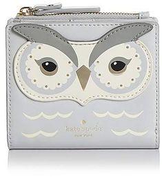 kate spade new york Adalyn Owl Leather Bifold Wallet