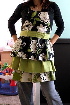 "DIY ""Sew Cute Apron""!"