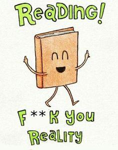Reading! lol