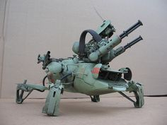 Mantis by Mark`Stevens ModelCrafter, via Flickr