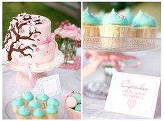 Cake & cupcakes by Call me cupcake, via Flickr