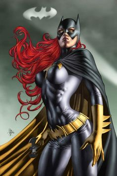 Batgirl. Colors by Thomas Mason