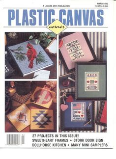 Plastic canvas cornerMarch 1992 - Mly AgH - Picasa Web Albums..FREE BOOK,PATTERNS AND INSTRUCTIONS!
