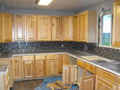 Photobucket Kitchen Cabinet Colors, Kitchen Layout, Kitchen Cabinets, Island, Home Decor, Decoration Home, Room Decor, Cabinets, Islands