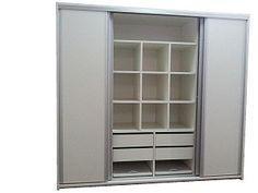 Productos y Artículos | Placard 200x180x60 3 Puertas Corredizas Perfiles de Aluminio Artículo 002