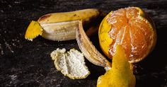 Why You Should Never Throw Away Orange or Banana Peels.surprising uses for banana and orange peels. Banana Peel Uses, Banana Peels, Natural Cures, Natural Health, Healthy Holistic Living, Healthy Living, Orange Peel, Natural Medicine, Health And Nutrition