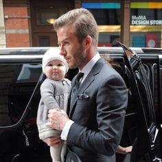 Beckham and babygirl