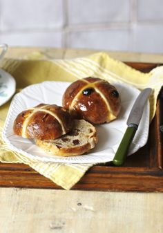 The classic hot cross bun: easy to make, packed with flavour and irresistible when slathered with butter