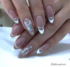VK is the largest European social network with more than 100 million active users. Elegant Nails, Classy Nails, Stylish Nails, Cute Nails, Pretty Nails, Classy Nail Designs, Cute Nail Art Designs, Acrylic Nail Designs, Chistmas Nails