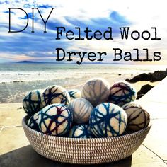 DIY Felted Wool Drye