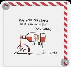 Funny Christmas Cards, Christmas Pictures, Christmas Humor, Christmas Towels, Christmas Cats, Christmas Squares, Christmas Drawing, Mulled Wine, Square Card