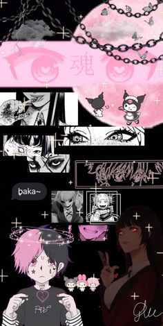 Goth Wallpaper, Crazy Wallpaper, Cute Wallpaper For Phone, Cute Patterns Wallpaper, Cute Anime Wallpaper, Aesthetic Iphone Wallpaper, Aesthetic Wallpapers, Tumblr Wallpaper, Cool Backgrounds Wallpapers