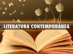 """""""LITERATURA CONTEMPORÀNEA"""" - AUTORES PRINCIPALES"""