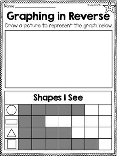 "Graphing and Data Analysis in first grade can seem daunting but it is actually a really fun math concept because it is so visual. Kids ""get . Graphing Worksheets, Graphing Activities, Kindergarten Math Activities, Fun Math, Teaching Math, Numeracy, Teaching Ideas, 1st Grade Math, First Grade"