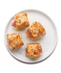 Cheddar and Pecan Mini Scones More