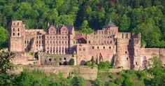 Liked on Pinterest: Heidelberger Schloss