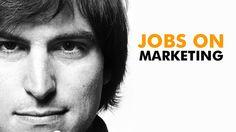 Steve Jobs on Marketing. Incredible presentation.