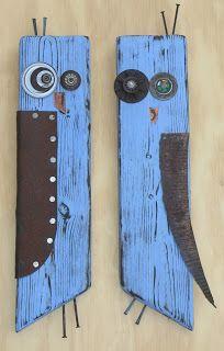 owls from scrap wood - Yard art -You can find Owls and more on our website.owls from scrap wood - Yard art - Arte Pallet, Pallet Art, Pallet Boards, Wood Projects, Woodworking Projects, Woodworking Bench, Woodworking Techniques, Projects With Scrap Wood, Scrap Wood Art