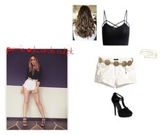 """""""Recreated perrie's outfit"""" by sofyoli on Polyvore featuring H&M, Chanel and Elsa Peretti"""