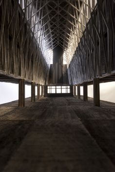 Market bridge over the Sihl // by Lukas Kissling, Nicolas Rothenbühler in Studio Tom Emerson, DARCH ETH