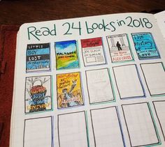 |¤| MadebyPernille: What a cute way to track all your books read in your bullet journal - I must try this!