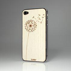 Dandelion White Ash iPhone Cover