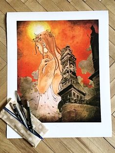 Věštkyně - Delarock  #komiksovakytice #ceskygrimm #kjerben #vestkyne Grimm, Art, Art Background, Kunst, Performing Arts, Art Education Resources, Artworks