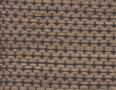 Raffia and Cotton Carpet: Kiaat