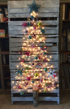 Top 20 Pallet Christmas Tree Designs To Pursue #ad
