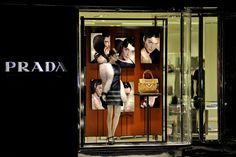 Prada window display 2011, Toronto