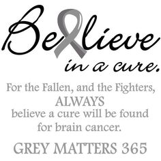 For my daddy!!! Brain Cancer Awareness!
