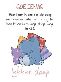 Goeie Nag, Goeie More, Afrikaans Quotes, Good Night Sweet Dreams, Sleep Tight, Amen, Qoutes, Friendship, Summer