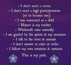 A Little Thought From Me to You….. | Witches Of The Craft®