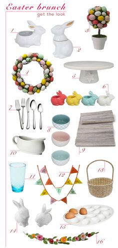 Get ready for Easter brunch with Target's Style Home Expert, Emily Henderson's top picks. http://stylebyemilyhenderson.com/blog/spring-brunch-with-target/