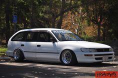 Toyota Corolla, Corolla 1994, Corolla Wagon, Rims For Cars, Japan Cars, Love Car, Trd, Retro Cars, Honda Accord