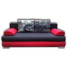Flavio to wyjątkowa kanapa zaprojektowana w modernistycznym stylu. Odznacza się nowoczesnym kształtem przy zachowaniu bardzo praktycznego charakteru.