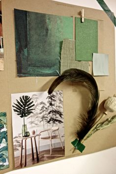 How to offer styling services specialized on the green trend? Inspiration by @ilariafatone | Eclectic Trends Studio Moodboarding Workshops