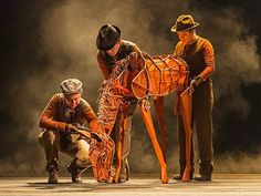 War Horse puppetry....amazing!