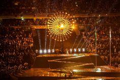 Cerimônia de abertura também teve trasmissão da TV Brasil. Foto: Tomaz Silva/Agência Brasil