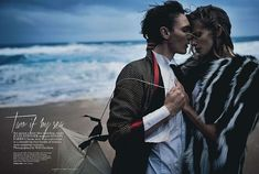 Julia Stegner & Eamon Farren: VOGUE Australia. Photographer: Will Davidson