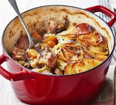 This easy lamb one pot takes classic comfort food and makes it healthier, without compromising on flavour