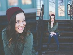 Utah City Snowy Mountain Senior Session, what to wear for senior pictures