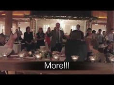 One Day More - Rehearsal Dinner flash mob. Wow, that would be amazing and hilarious and wonderful.