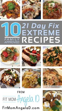 My 10 top favorite family approved 21 day fix extreme dinner recipes 21 Day Fix Diet, 21 Day Fix Meal Plan, 21 Day Fix Extreme, Clean Eating Recipes, Diet Recipes, Healthy Recipes, Delicious Recipes, Recipes Dinner, Paleo Dinner